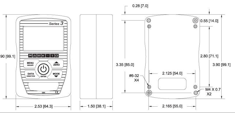 Đồng hồ đo lực và momen xoắn series M3i | Mark 10 Viet Nam