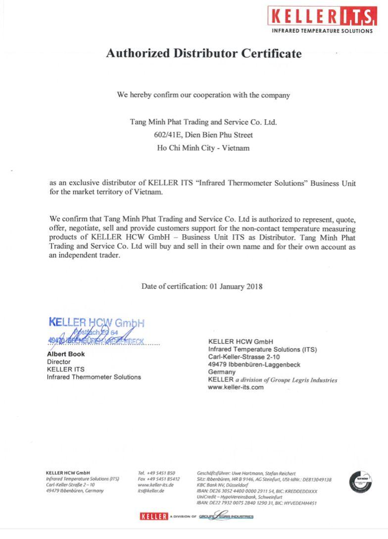 Keller Việt Nam - Đại lý chính thức Keller tại Việt Nam