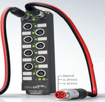 EtherCAT P – Ultra-fast Communication and Power in One Cable - Beckhoff Viet Nam