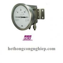 Đồng hồ đo áp suất chênh lệch BP400 | PCI-Instrument Viet Nam