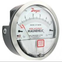 Đồng hồ đo chênh áp 2000 Magnehelic - Dwyer