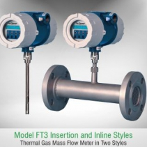 Máy đo lưu lượng khí FT3 - Fox Thermal