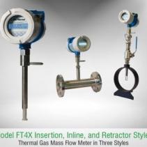 Máy đo lưu lượng khí FT4X - Fox Thermal